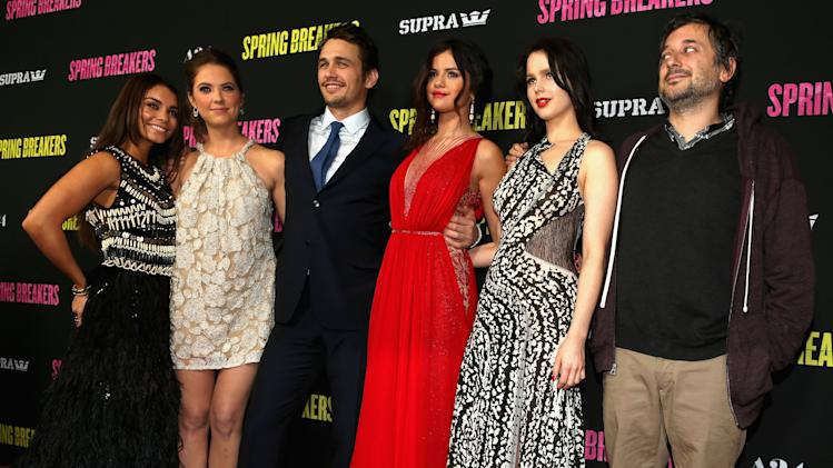 "Premiere For ""Spring Breakers"" - Red Carpet"