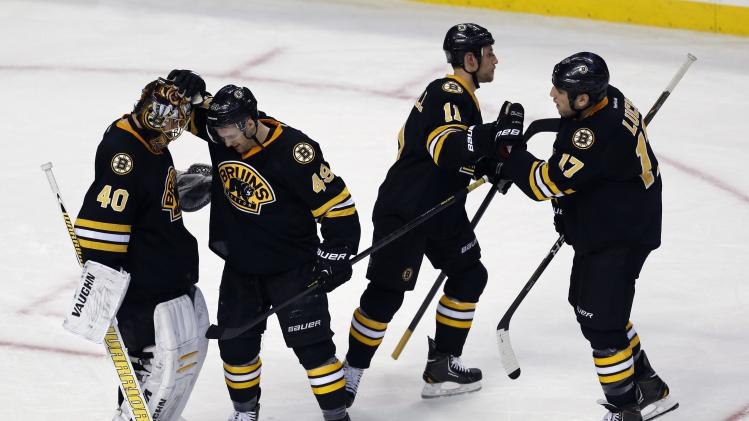 NHL: Winnipeg Jets at Boston Bruins