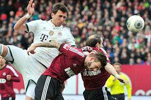Nurnberg 0-2 Bayern Munich: Mandzukic and Lahm on target as leaders cruise to victory