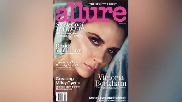 Victoria Beckham on the March 2014 cover of Allure -- Allure