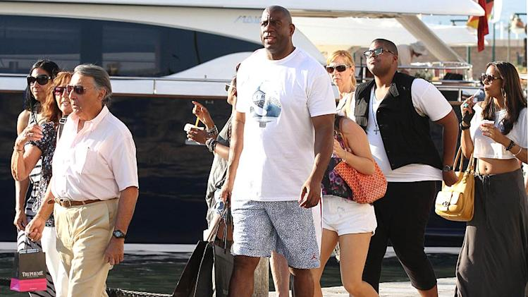 Magic Johnson St Tropez