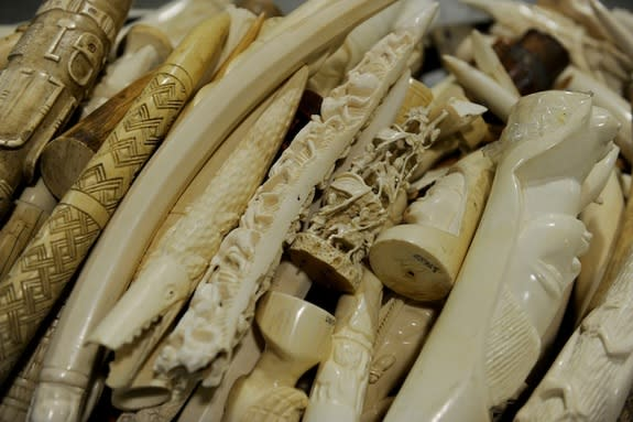 Millions of Dollars in Ivory Sold on Craigslist