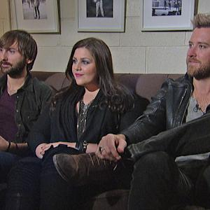 Lady Antebellum - Live On Letterman Interview