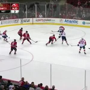 Keith Kinkaid Save on Aleksander Barkov (19:26/3rd)