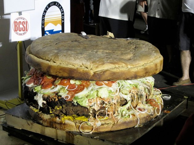 The world&amp;#39;s biggest food portions