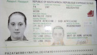 "A copy of the fake South African travelling passport of Samantha Lewthwaite in this handout photo released by the Kenyan police in December 2011. A British security source said on Tuesday it was a possibility that the widow of a suicide bomber who attacked London in 2005 was involved in the siege of a Nairobi shopping mall where Islamist fighters killed at least 62 people. When asked about reports that Lewthwaite, dubbed the ""white widow"" by the British media, was directly involved in the attack in Kenya, the source said: ""It is a possibility. But nothing definitive or  conclusive  yet."" REUTERS/Kenyan Police Service/Handout via Reuters (KENYA - Tags: CIVIL UNREST CRIME LAW) ATTENTION EDITORS - THIS IMAGE WAS PROVIDED BY A THIRD PARTY. FOR EDITORIAL USE ONLY. NOT FOR SALE FOR MARKETING OR ADVERTISING CAMPAIGNS. NO SALES. NO ARCHIVES. THIS PICTURE IS DISTRIBUTED EXACTLY AS RECEIVED BY REUTERS, AS A SERVICE TO CLIENTS"