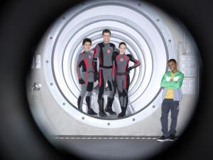 Billy Unger, Spencer Boldman, Kelli Berglund and Tyrel Jackson Williams from 'Lab Rats'