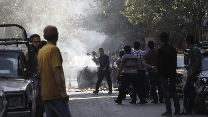 Iran police on watch after currency protests
