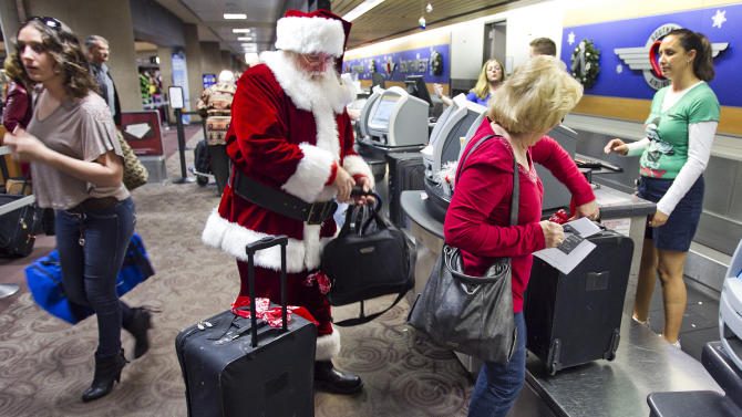 Christmas, New Year's travel busiest in 6 years