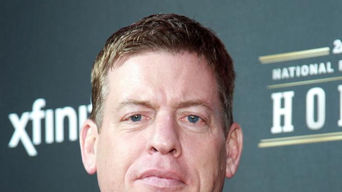 Former NFL player Troy Aikman arrives at the 2nd Annual NFL Honors, on Saturday, Feb. 2. 2013 in New Orleans (Photo by Dario Cantatore/Invision/AP)