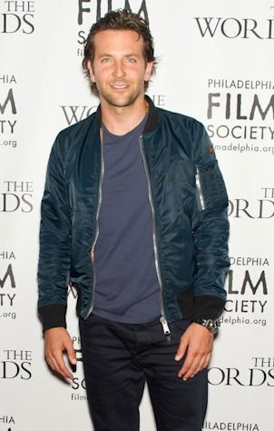 Bradley Cooper attends &#39;The Words&#39; premiere at the Prince Music Theater in Philadelphia on August 27, 2012 -- Getty Premium