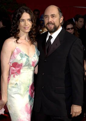 Sheila Kelley and Richard Schiff Emmy Awards - 9/22/2002