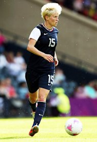 Megan Rapinoe | Photo Credits: Stanley Chou/Getty Images
