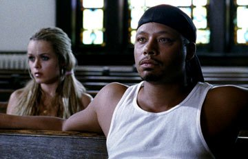 Taryn Manning and Terrence Dashon Howard in Paramount Classics' Hustle & Flow