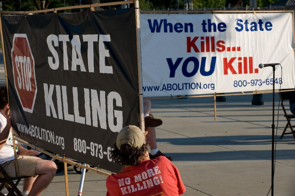 Support for death penalty falling in America