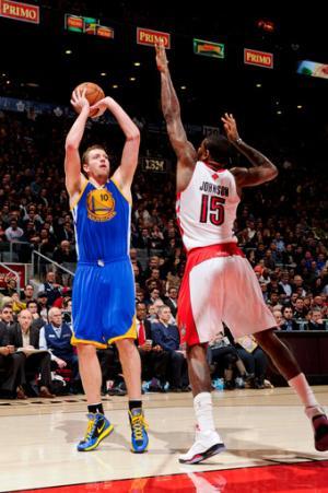 Lee scores 21 as Warriors beat Raptors 114-102