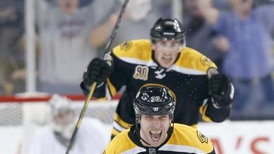 Chara scores winner as Bruins beat Pens 3-2