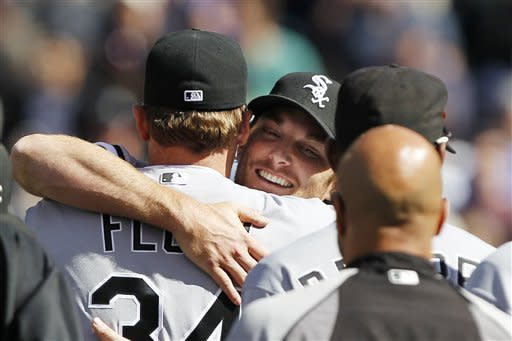 White Sox's Humber tosses perfect game