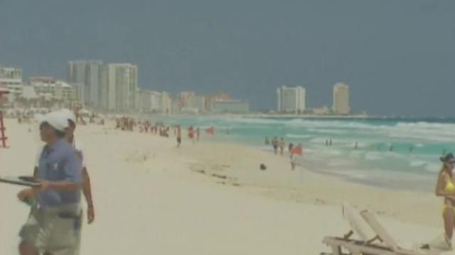 Mexico beaches popular spring break destination