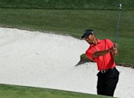 Tiger Woods, pictured on April 8, will try to bounce back from a disappointing Masters at the US PGA Tour&#39;s Wells Fargo Championship at Quail Hollow May 3-6, organizers said Wednesday