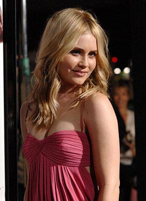 Alison Lohman at the Los Angeles premiere of DreamWorks Pictures' Things We Lost in the Fire