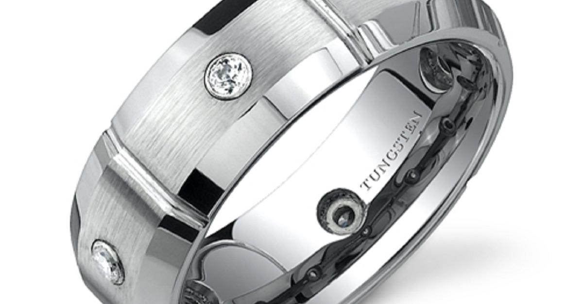 Handsome Tungsten Rings - Just $50 - Free Shipping