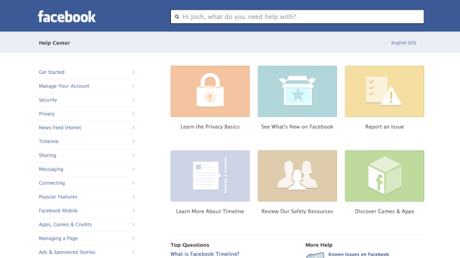 Facebook Launches Redesigned Help Center [PICS]