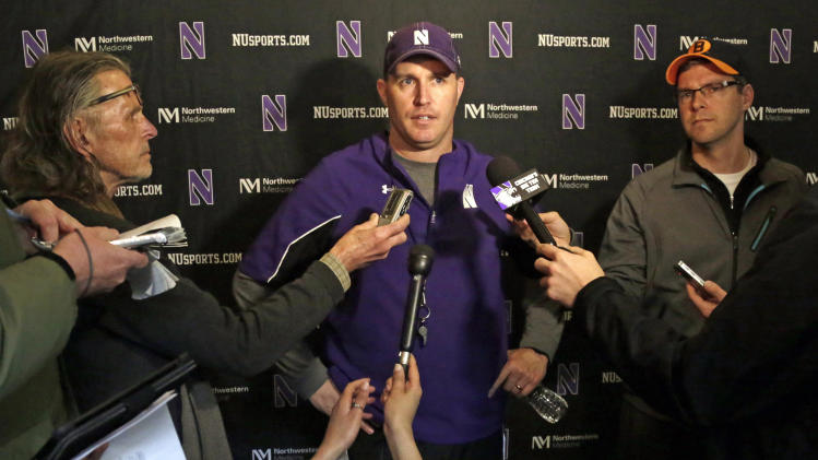 Union question looms as Northwestern practices