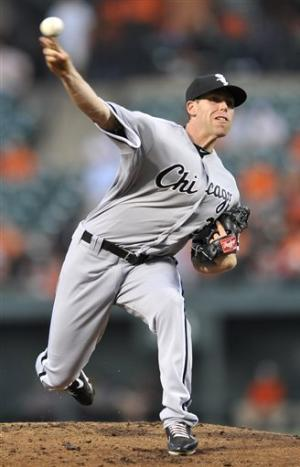 White Sox pound Saunders in 8-1 win over Orioles