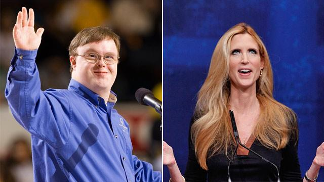 Athlete With Down Syndrome Takes on Ann Coulter