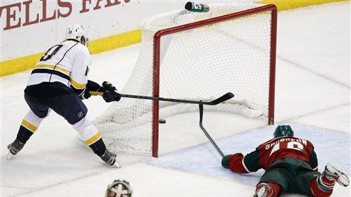 Mason, Predators top Wild 3-1 for 1st win