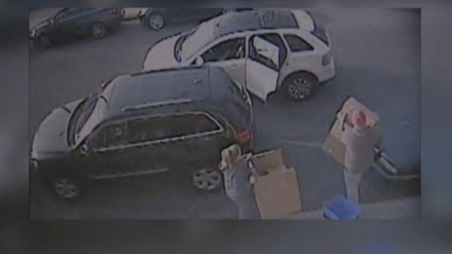Couple Steals Holiday Presents Right After They're Delivered