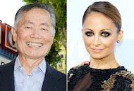 George Takei, Nicole Richie | Photo Credits: Gregg DeGuire/WireImage, Michael Tran/FilmMagic