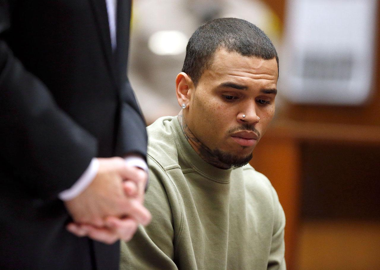 Chris Brown Postpones Tour, About to Start Community Service