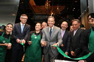 ADDING MULTIMEDIA Starbucks Unveils Iconic First Store in Colombia Honoring Country's Rich Coffee Heritage