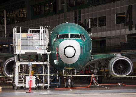 Boeing starts building first 737 MAX jet on schedule