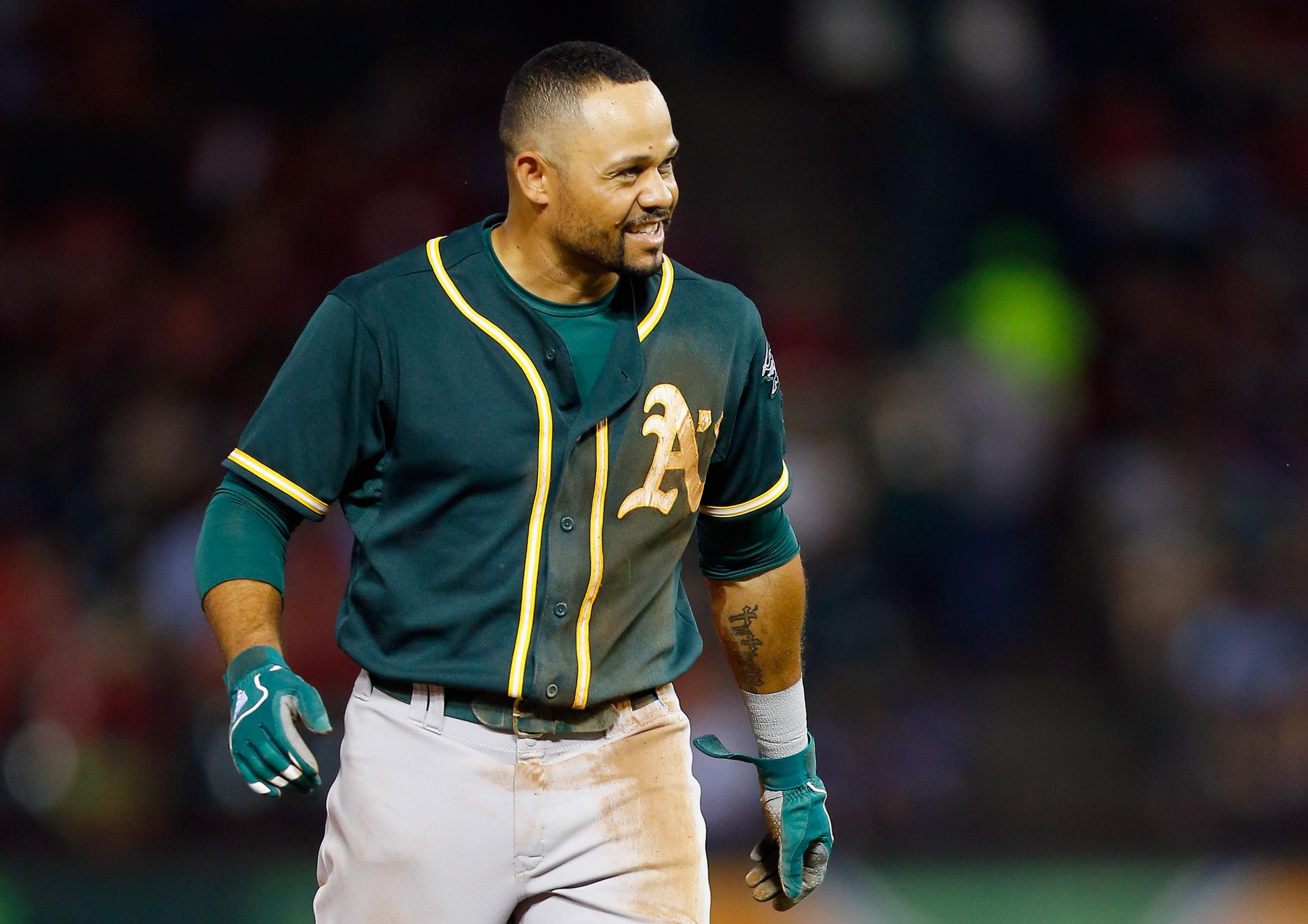 A's depth to be tested with Coco Crisp reportedly needing elbow surgery