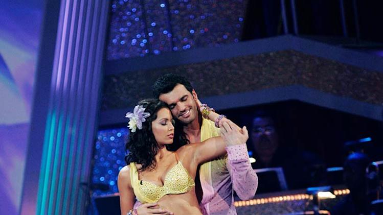 "Melissa Rycroft and Tony Dovolani perform the Rumba to ""If I Were a Boy"" by Beyoncé on ""Dancing with the Stars."""