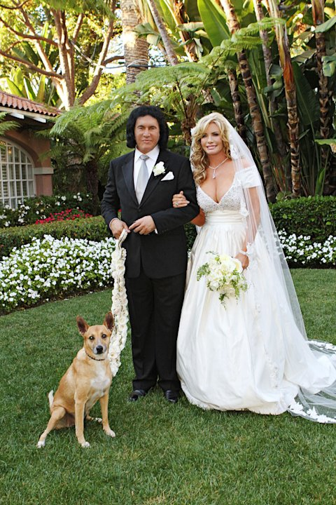 "Gene Simmons and Shannon Tweed on ""Gene Simmons Family Jewels."""