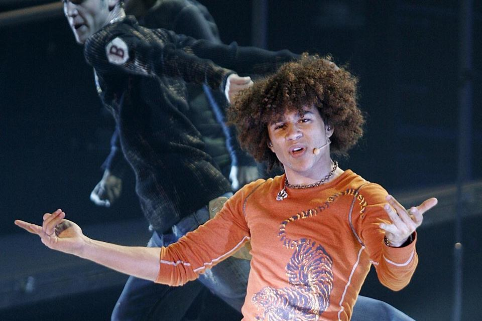 Corbin Bleu performs in High School Musical: The Concert.