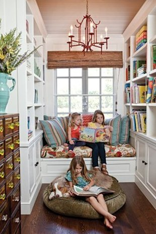 A kid-friendly nook