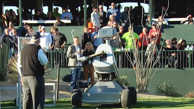 A robot golfer just nailed a hole-in-one for the first time ever