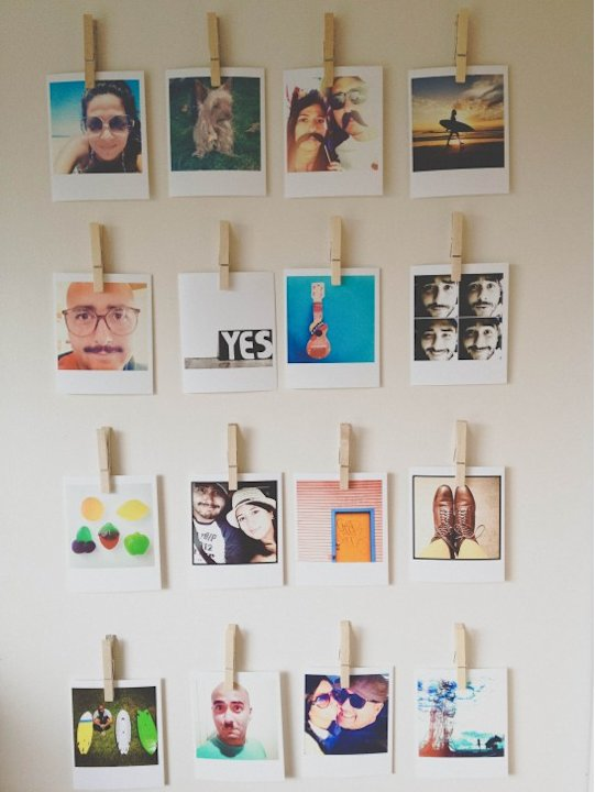 Instagram Rotating Wall Collage