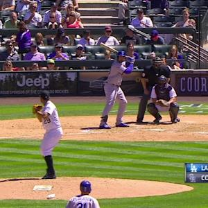 Gonzalez's bases-loaded walk