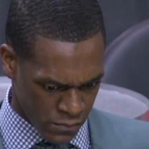 Rondo Reacts to Stat Sheet