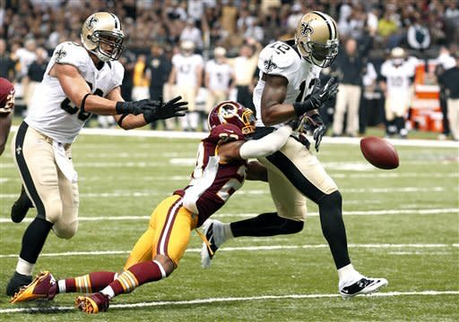 Griffin stars and Redskins down Saints 40-32