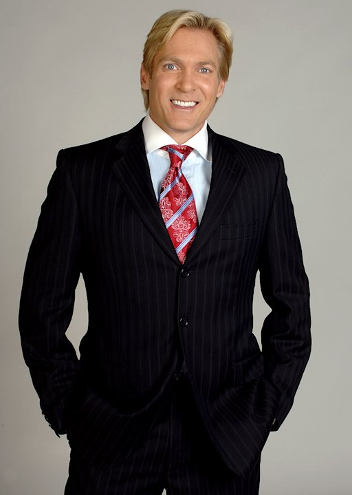 Sam Champion, weather anchor for Good Morning America on ABC.