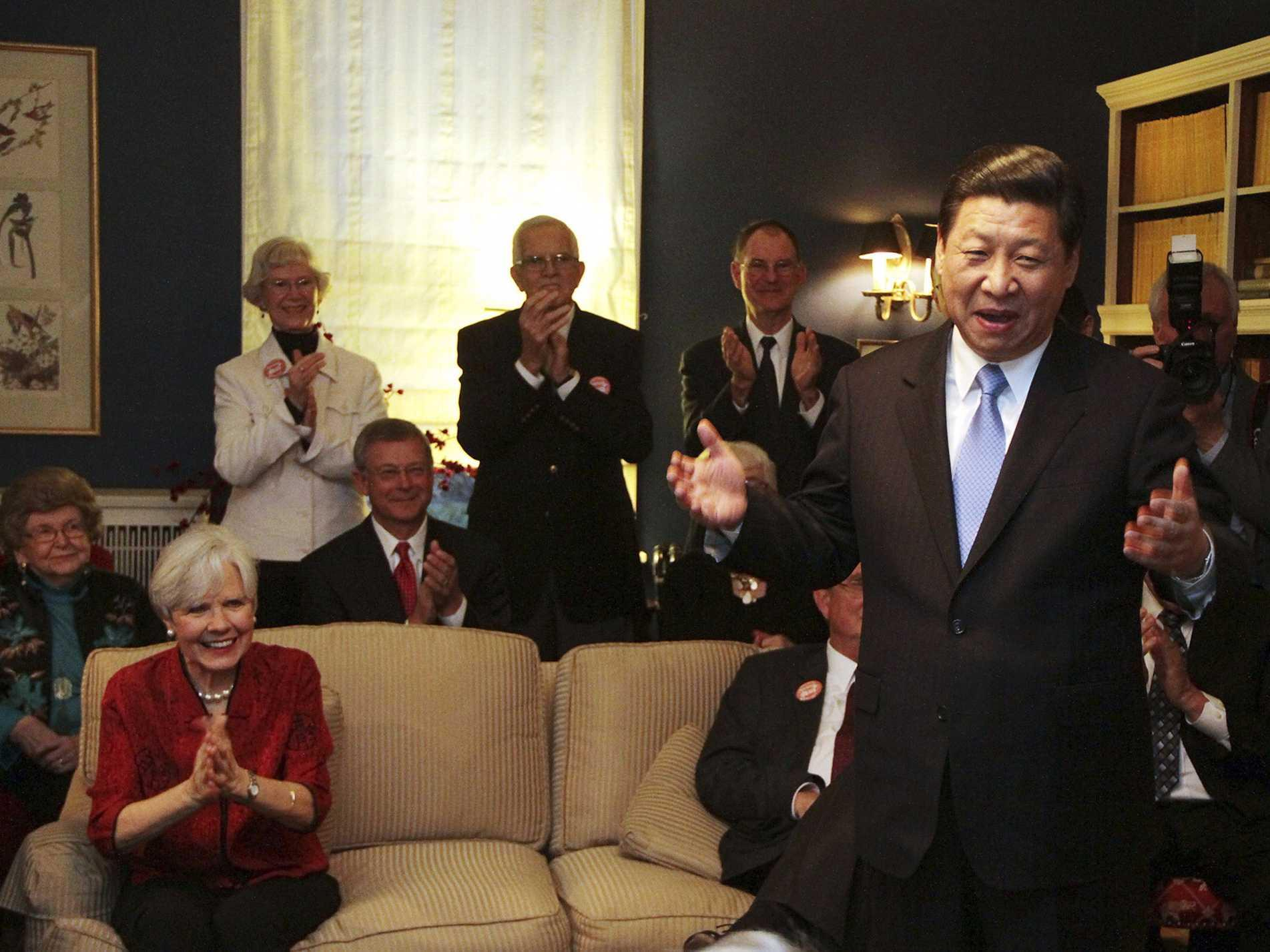 The Iowa mom who hosted Xi Jinping in the 80s said 'no one in their right mind would ever think' he'd become president of a country