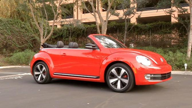 New convertible Volkswagen Beetle has same old charm
