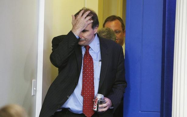 Axelrod Can't Help Freaking Out at a Karl Rove Misquote